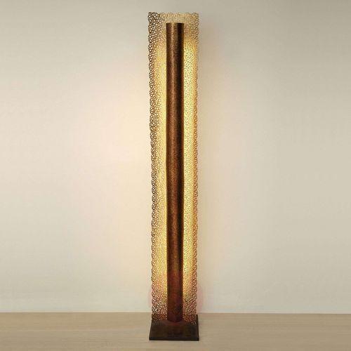 Holländer utopistico lampa stojąca brązowy, złoty, 1-punktowy - nowoczesny - obszar wewnętrzny - utopistico - czas dostawy: od 8-12 dni roboczych (4250151332406)