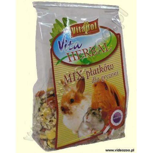 Vitapol herbal mix płatków dla gryzoni 150g