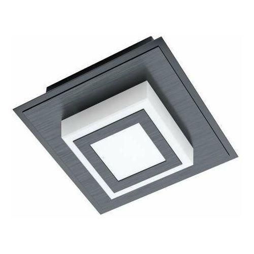 masiano 1 99361 plafon lampa ścienna/sufitowa 1x3,3w led czarny/satyna marki Eglo
