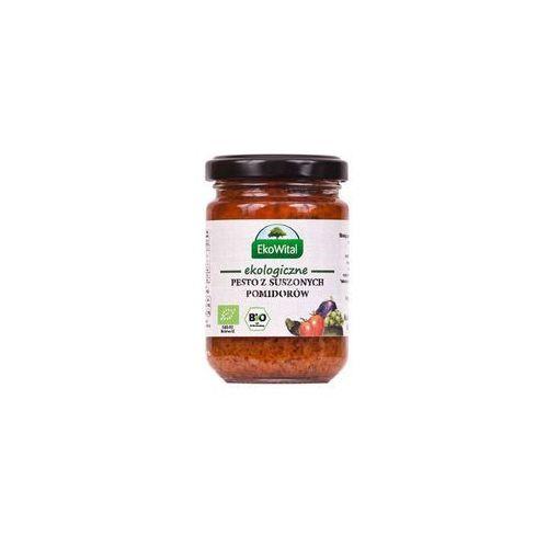 Eko wital Pesto z pomidorów suszonych na słońcu bio 140 g (5908249971394)