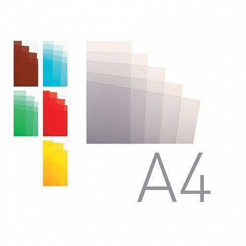 Okładki do bindowania A4 folia przezroczysta bezbarwna O.CLEAR Economy 0,15mm 100ark. OPUS