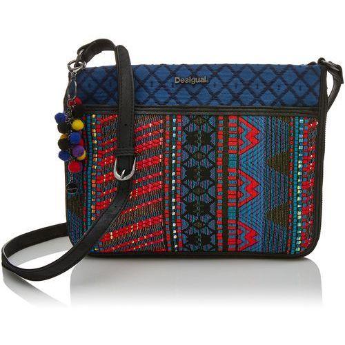 damski bols _ formigal togo. 5011. u torba na ramię, niebieskie (navy), 2 x 23.0 x 30.5 cm marki Desigual