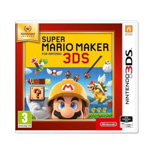 Nintendo Gra 3ds super mario maker selects (0045496477370)