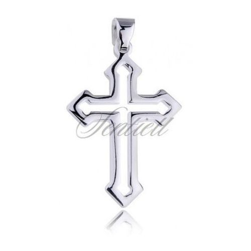 Sentiell Silver (925) pendant cross - highly polished - kks0016