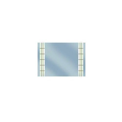Lustro łazienkowe z oświetleniem wbudowanym featon 55 x 79 marki Dubiel vitrum
