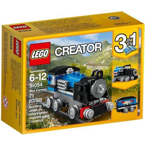 LEGO Creator, Niebieski ekspres, 31054 wyprzedaż