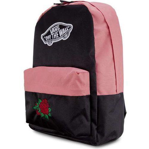Plecak wm realm backpack burgundy classic rose burgundy classic rose marki Vans