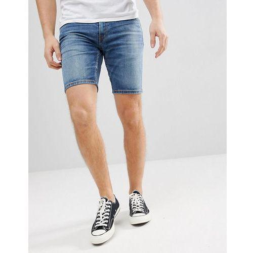 Levi's 511 slim shorts tanager lightwash - blue marki Levis