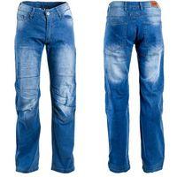 W-tec Męskie jeansowe spodnie motocyklowe davosh, niebieski, 3xl