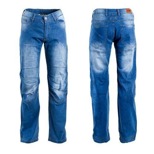 Męskie jeansowe spodnie motocyklowe W-TEC Davosh, Niebieski, XXL
