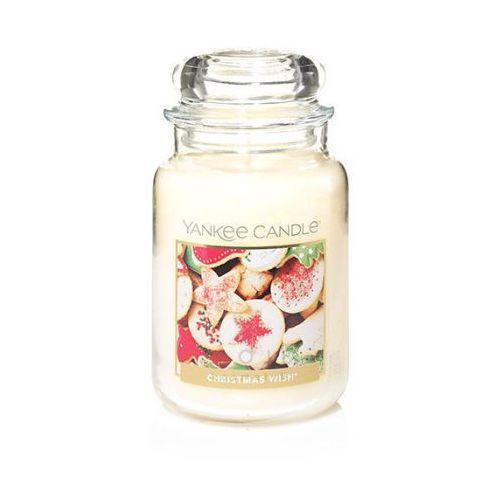 Yankee Candle CHRISTMAS WISH duża świeca zapachowa 623g, 5038581061788