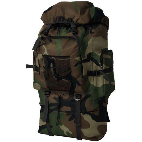 Vidaxl plecak w stylu wojskowym xxl 100l moro