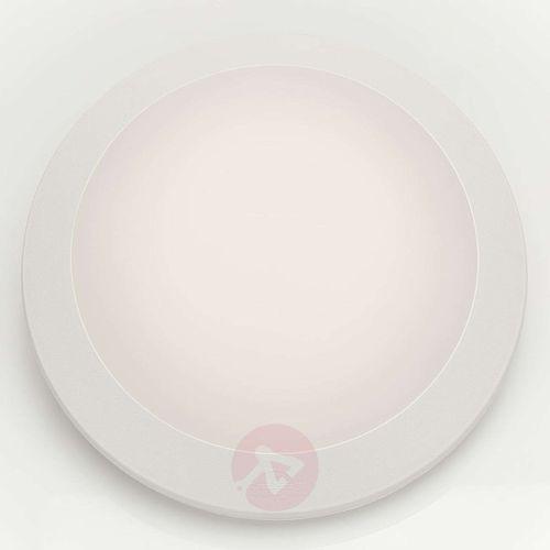 Biały – kinkiet led umberta 11 w ciepła biel marki Fumagalli