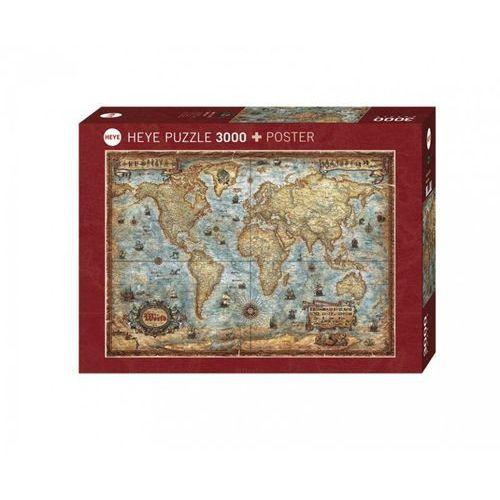 Heye Świat. puzzle 3000 elementów (4001689292751)