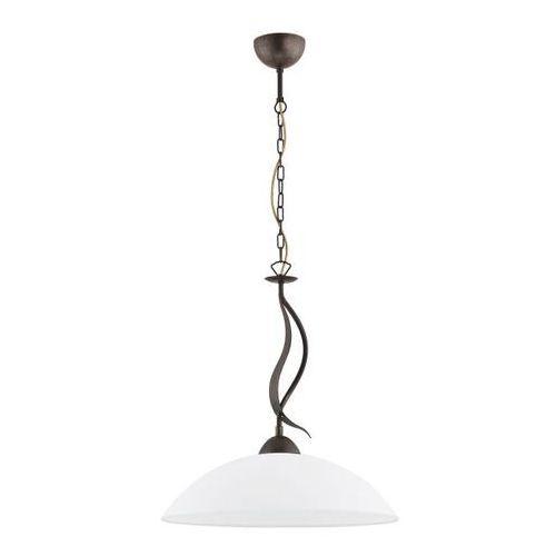 Alfa Lampa wisząca itaka 2881 zwis 1x60w e27 biała (5900458228818)