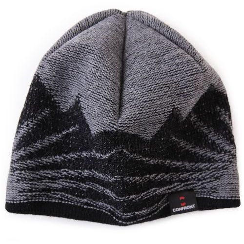 CONFRONT CZAPKA ZIMOWA ROCK GREY 134 - produkt z kategorii- Nakrycia głowy i czapki