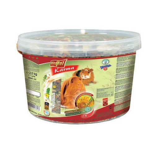 VITAPOL pokarm dla świnki morskiej wiaderko 3L-2kg
