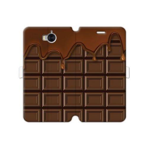 Etuo wallet book fantastic Huawei y5 (2017) - etui na telefon wallet book fantastic - tabliczka czekolady
