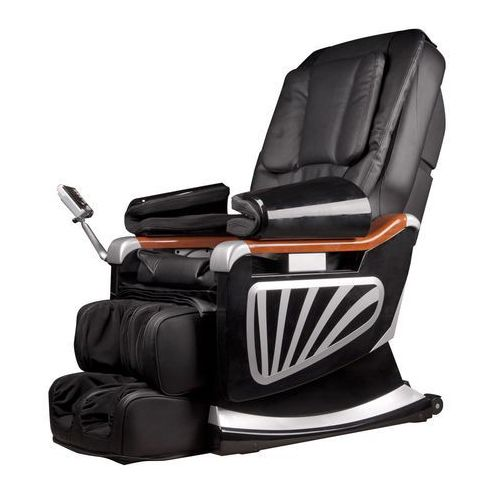 Fotel do masażu inSPORTline Masseria - Kolor Czarny