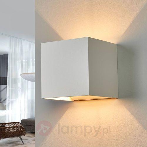 siri lampa ścienna biały, 1-punktowy - nowoczesny - obszar wewnętrzny - siri - czas dostawy: od 2-4 dni roboczych marki Helestra