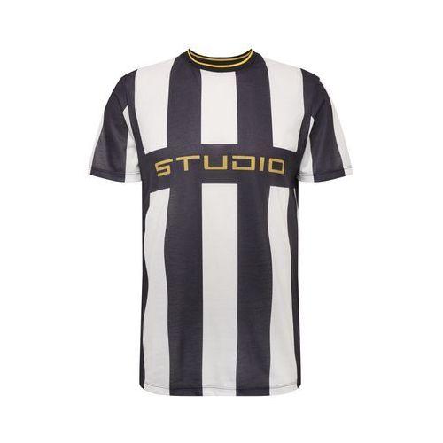 NEW LOOK Koszulka 'FB STUDIO STRIPE' czarny / biały, w 5 rozmiarach