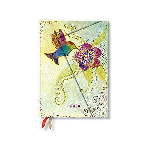 Kalendarz 2020 książkowy midi time hummingbird 12m marki Paperblanks