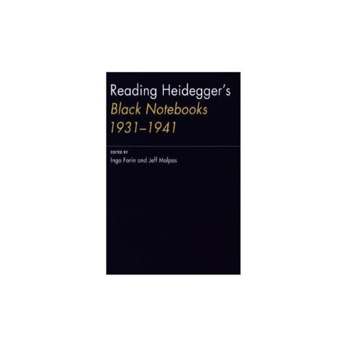 Reading Heidegger's Black Notebooks 1931--1941 (9780262034012)