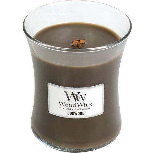 Woodwick Świeca core oudwood średnia