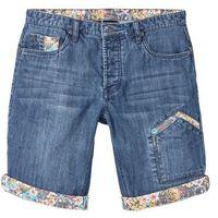 "Bermudy dżinsowe Regular Fit bonprix Niebieski ""stone"" Used, jeans"