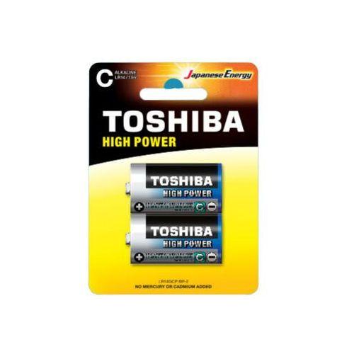 Baterie alkaliczne lr14gcp bp-2 (2szt.)- natychmiastowa wysyłka, ponad 4000 punktów odbioru! marki Toshiba
