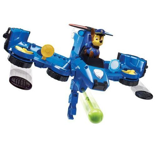 Psi patrol flip & fly pojazd 2w1 figurka chase marki Spin master