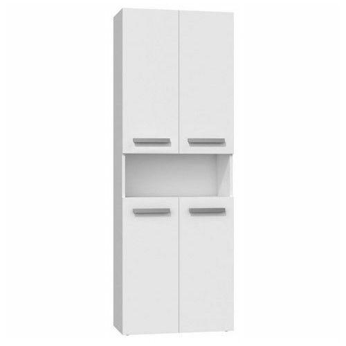 Szafka łazienkowa Malmo 5X - biała, NEL 2K DK BIEL KPL