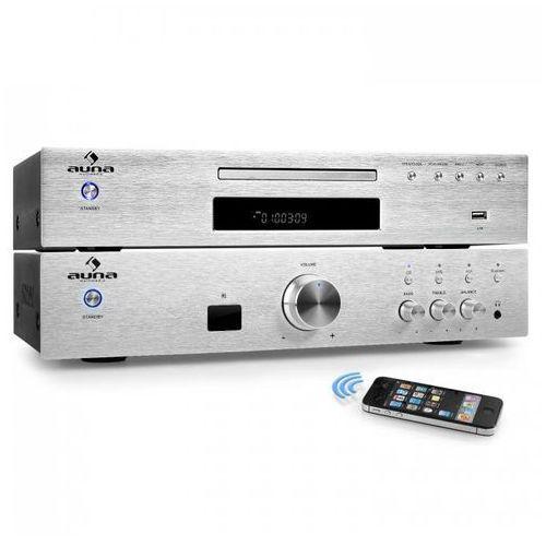 """Auna """"Elegance Tower Bluetooth"""" 2.0 Zestaw Hi-Fi  odtwarzacz MP3-CD   wzmacniacz 600 W (4260509678049)"""