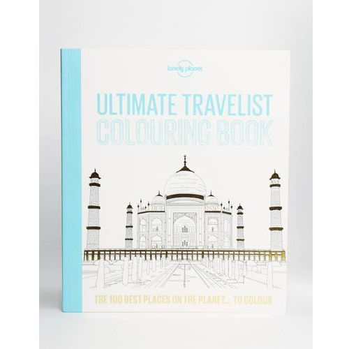 Lonely planet ultimate travelist colouring book - multi od producenta Books
