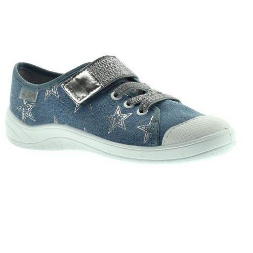 Trampki dla dzieci Befado 251Y094 Tim - Jeans, kolor niebieski
