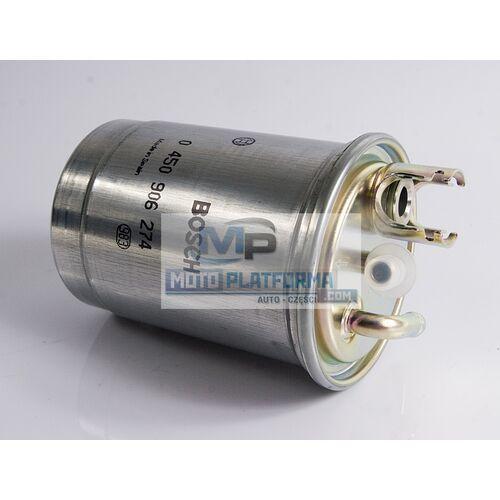 Filtr paliwa - BOSCH - 0 450 906 274 (0450906274) - DESTA / FORD / SEAT / SKODA / VW
