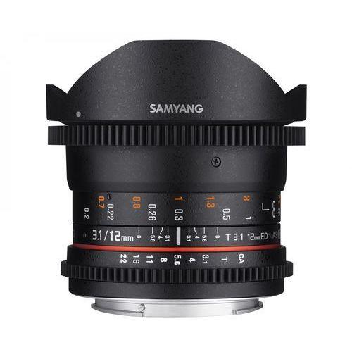 Samyang 12mm t3.1 vdslr ed as ncs fisheye nikon