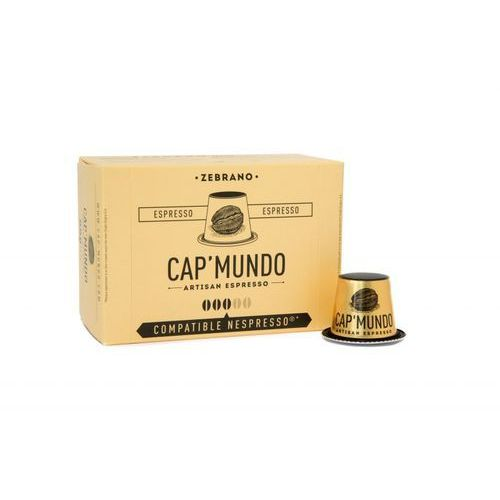 Kapsułki Nespresso Cap'Mundo Zebrano 10szt. NEW (5453003483021)