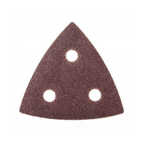 Dedra Papiery ścierne ded794572 trójkątne (5 sztuk)