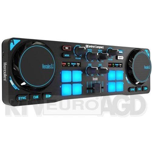 Hercules DJ Control Compact - produkt w magazynie - szybka wysyłka! (sprzęt DJ)
