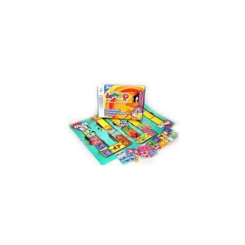 Gra planszowa edukacyjna looney tunes - domino marki Beniamin