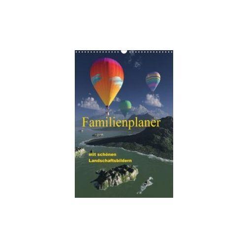 Familienplaner mit schönen Landschaftsbildern (Wandkalender 2018 DIN A3 hoch)