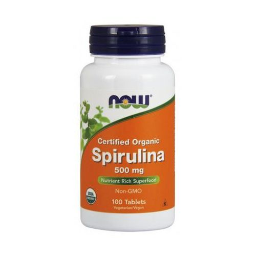 Now Foods Spirulina 500mg 100 tabl.