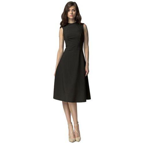 Sukienki midi - czarny - s62, Nife