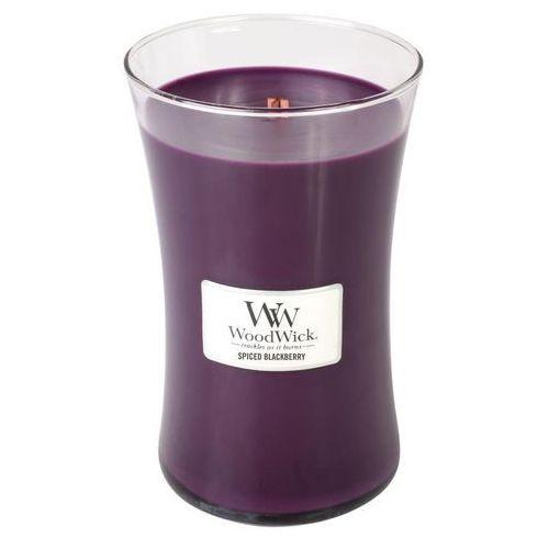 - świeca duża spiced blackberry 175h marki Woodwick