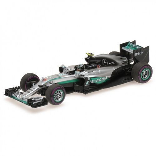 Mercedes amg petronas formula one team f1 w07 hybrid #6 nico rosberg monaco gp 2016 marki Minichamps