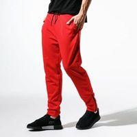 CONFRONT SPODNIE CITY RED PANTS, kolor czerwony