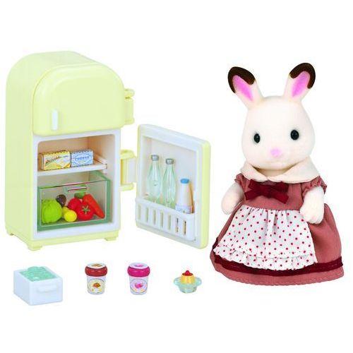 zestaw z mamą królików z czekoladowymi uszami (lodówka) marki Epoch