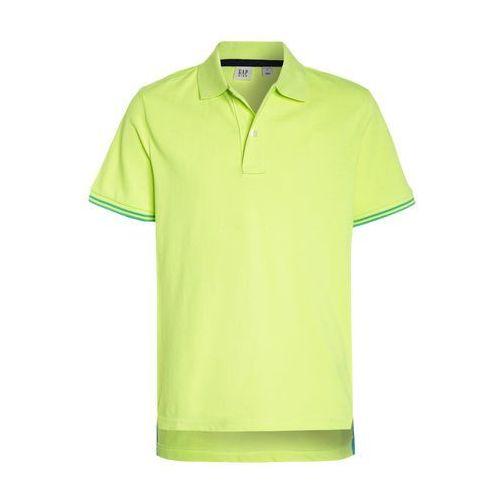 GAP Koszulka polo active yellow, kolor żółty