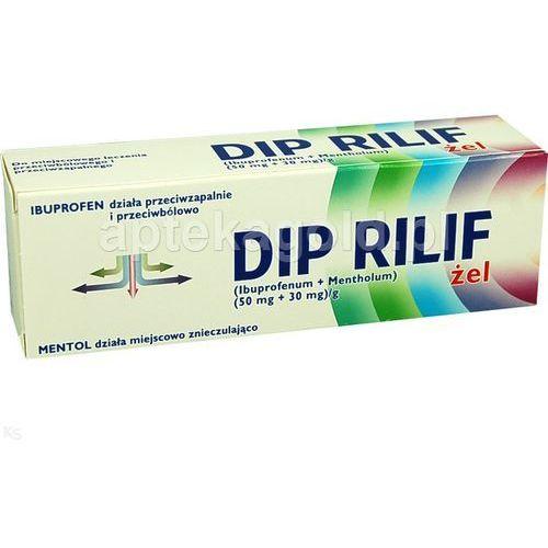 Dip Rilif zel x 50g - żel maści i żele przeciwbólowe